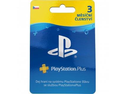 PS Plus card 90 dní SONY