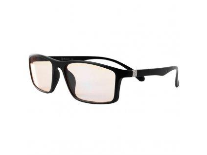 Herní brýle Arozzi VISIONE VX-200, jantarová skla - černé