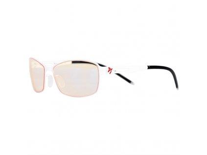 Herní brýle Arozzi VISIONE VX-400, jantarová skla - černé/ bílé