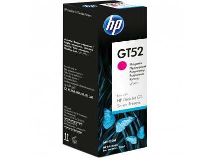 GT52 - purpurová lahvička s ink HP