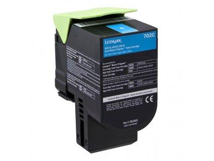 Toner Lexmark 70C20C0, 1000 stran, pro CS510de, CS410dn, CS310dn, CS310n, CS410n - modrý