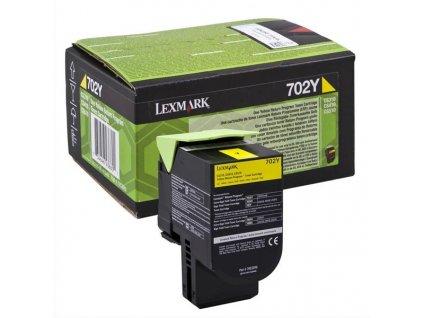 Toner Lexmark 70C20Y0, 1000 stran, pro CS510de, CS410dn, CS310dn, CS310n, CS410n - žlutý