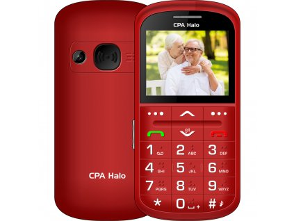 HALO 11 Pro Senior červený CPA