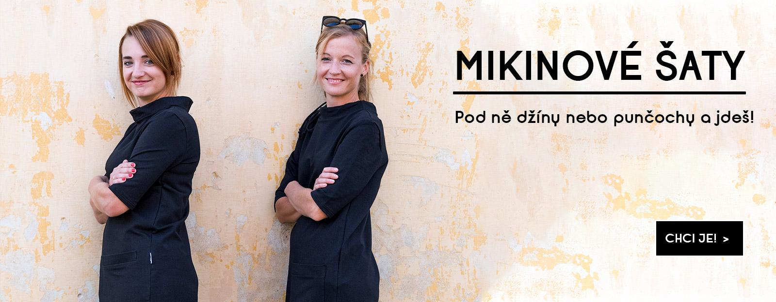 Mikinové šaty