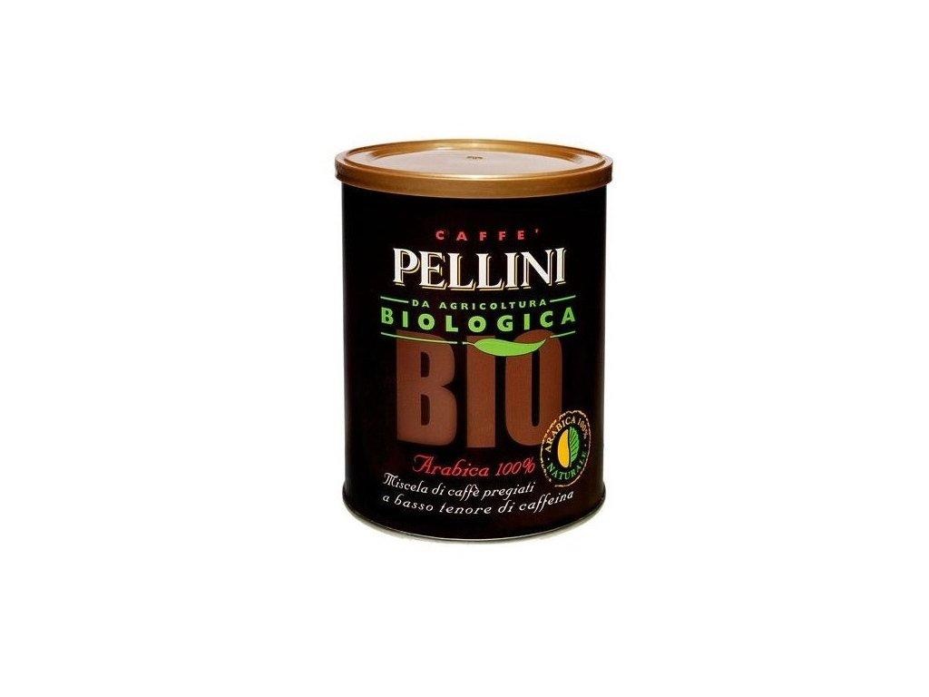pellini bio 100 arabica mleta kava v plechove doze 250g