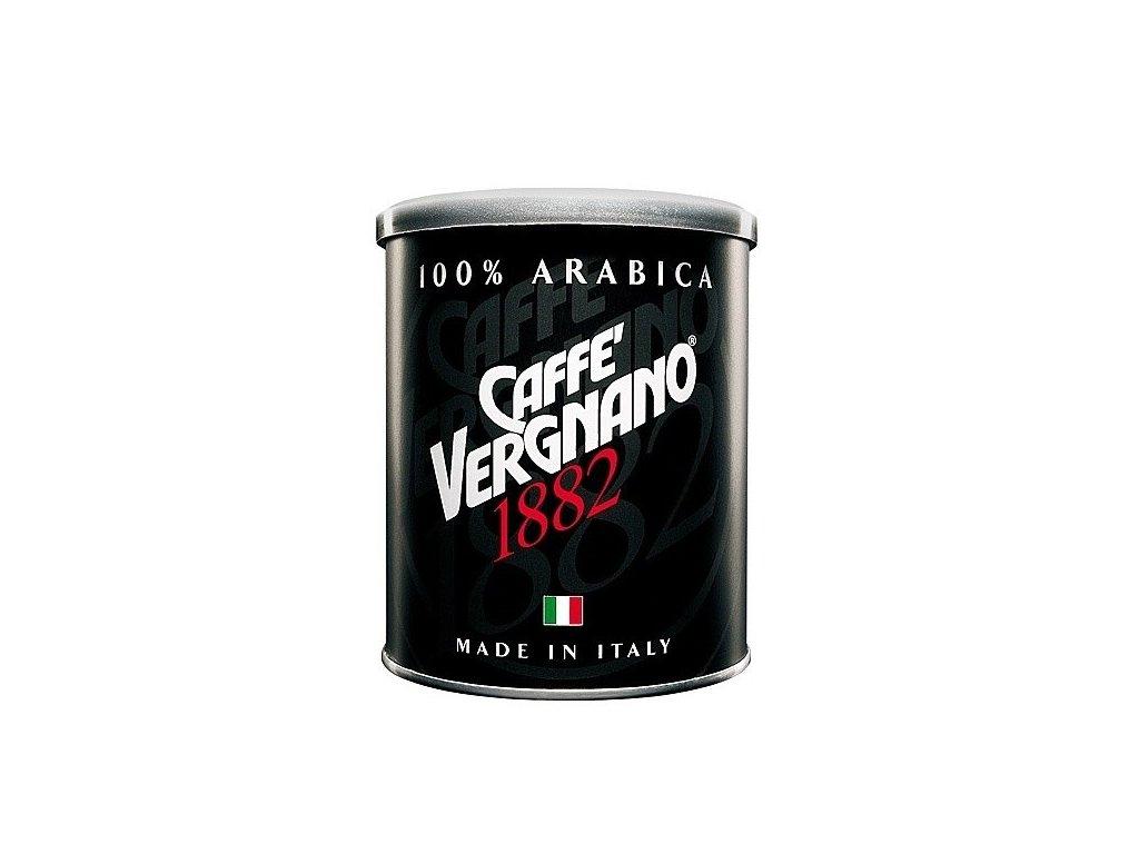 vergnano arabica moka 100 mleta kava v plechove doze 250g
