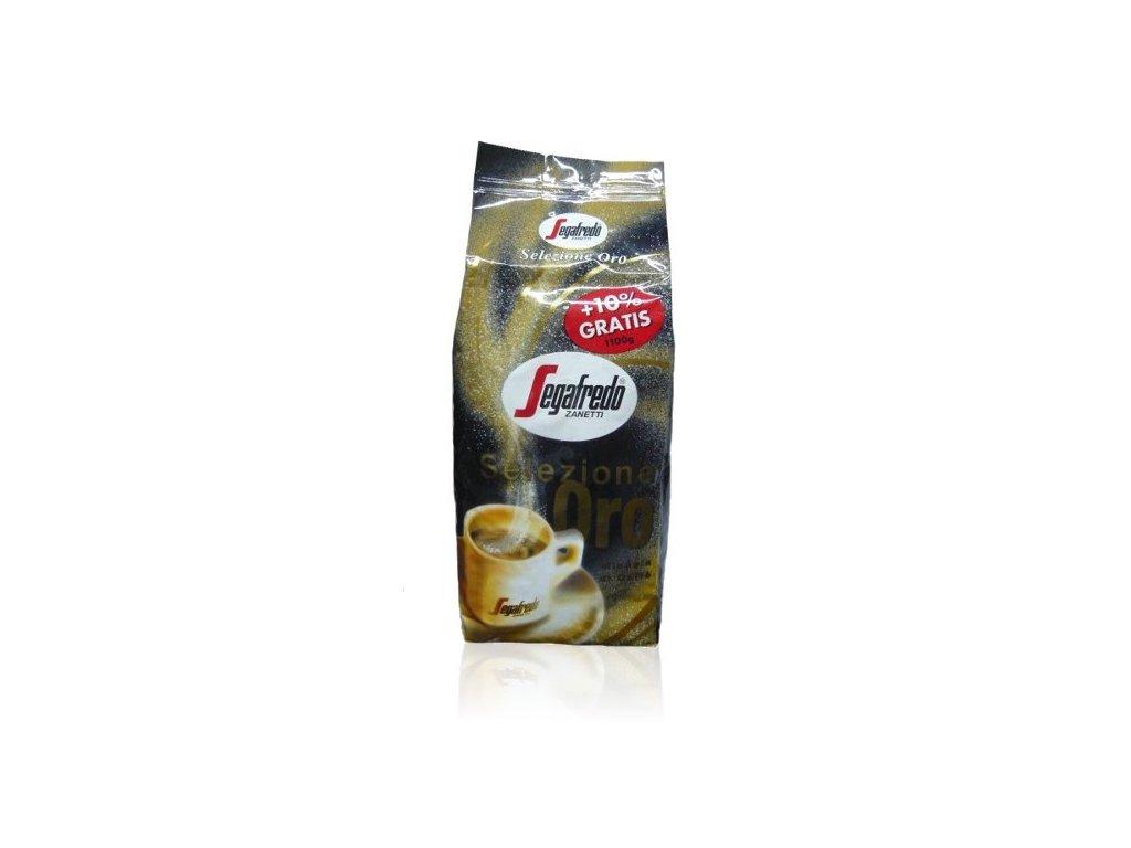 segafredo selezione oro zrnkova kava 1kg