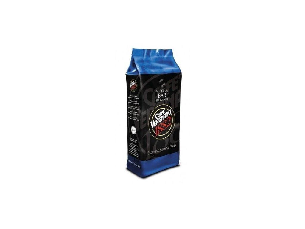 vergnano espresso crema 800 zrnkova kava 1kg