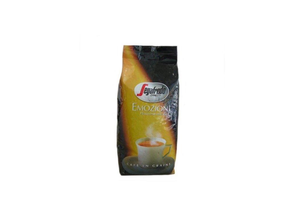 segafredo emozioni zrnkova kava 1kg