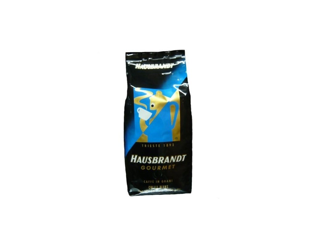 hausbrandt gourmet zrnkova kava 1 kg