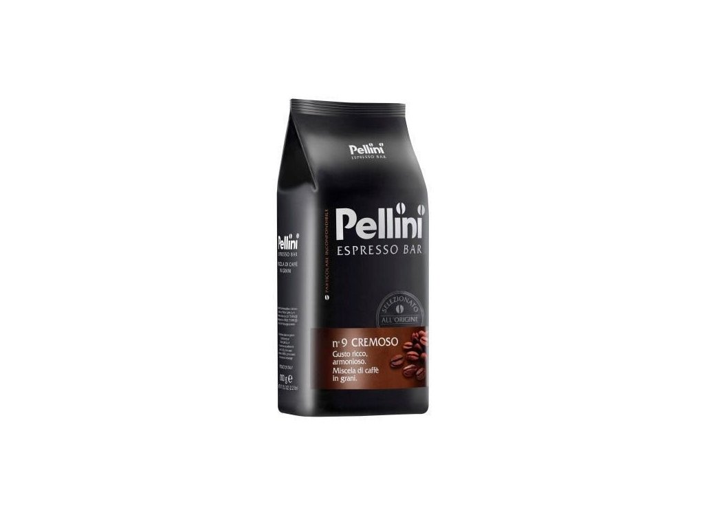 pellini espresso bar cremoso zrnkova kava 1kg