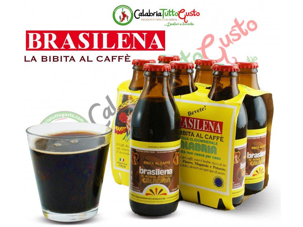 brasilena gassosa al caffe 6 pz