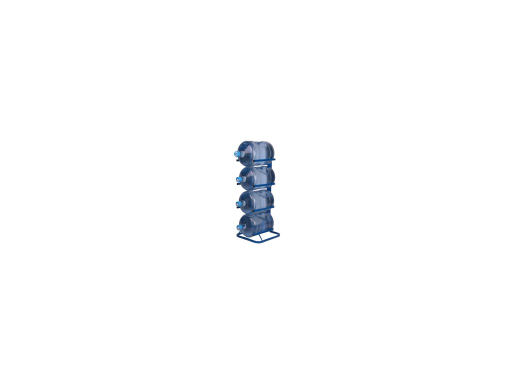 ocelovy stojan na 5 barelu 189l