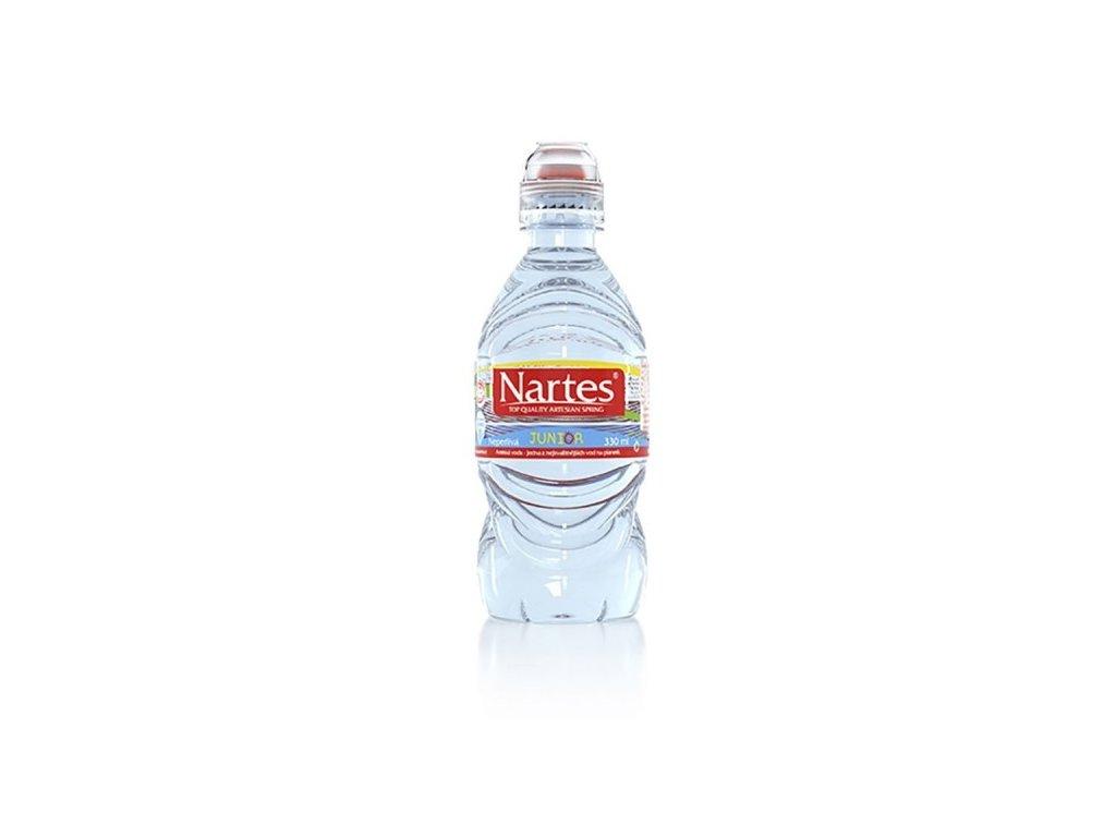 nartes junior pramenita voda 8 x 330ml
