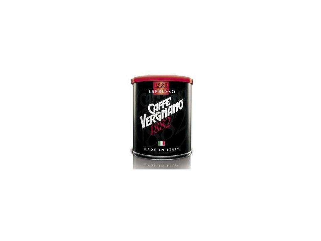 vergnano arabica espresso mleta kava v plechove doze 250g