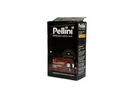 pellini gusto bar n1 vellutato mleta kava 250g