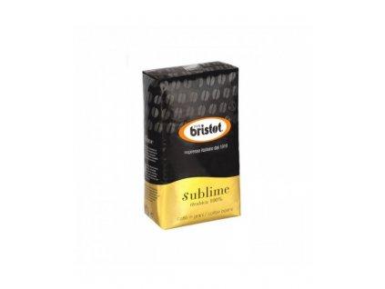 bristot sublime 100 arabica zrnkova kava 1 kg
