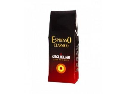 guglielmo espresso classico zrnkova kava 1 kg