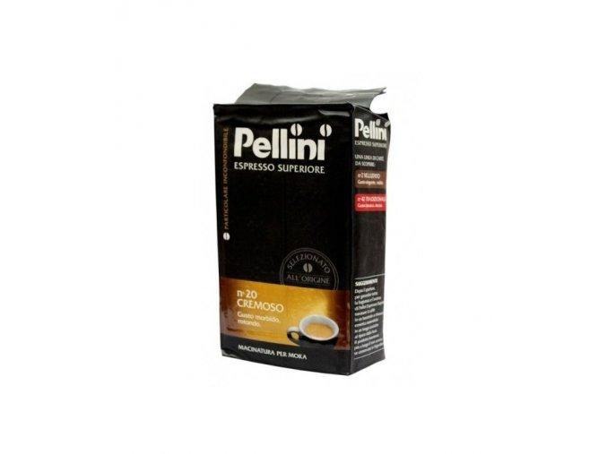 pellini superiore n20 cremoso mleta kava 250g