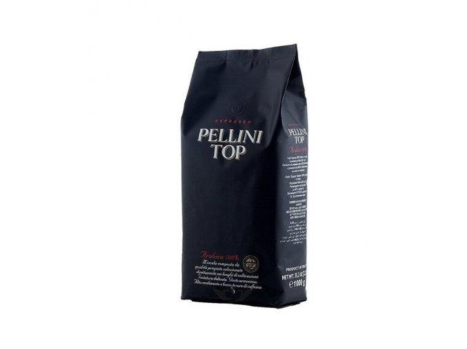 pellini top arabica 100 zrnkova kava 1kg