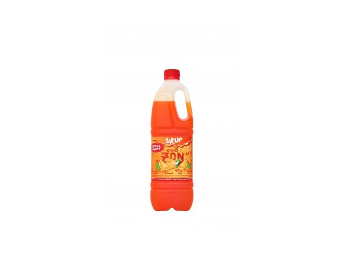 zon sirup oranz 1 litr