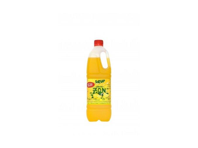 zon sirup citron 1 litr