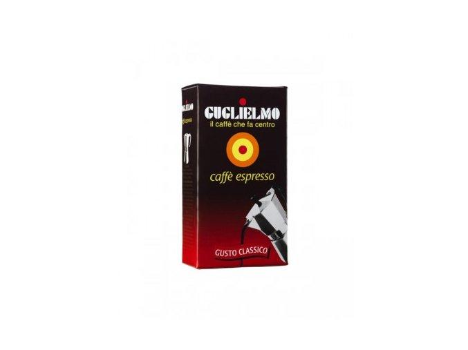 guglielmo espresso classico mleta kava 250g