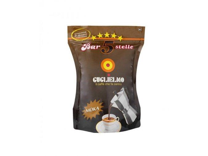 guglielmo bar 5 stelle espresso mleta kava 250g (6)