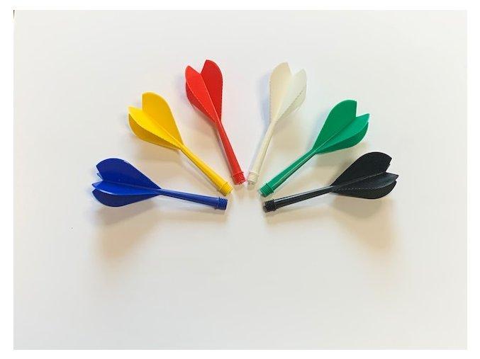 Plastová letka závit 1/4 7 cm
