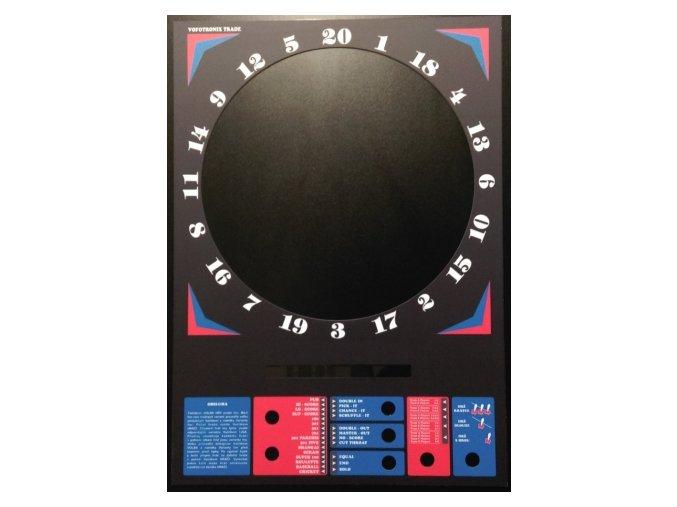 153410 nahradni plexi na automaty diamond darts