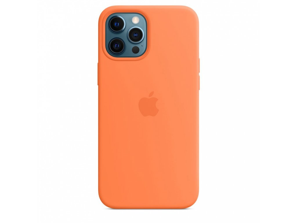 Apple iPhone 12 Pro Max Silicone Case with MagSafe - Kumquat (Seasonal Fall 2020)