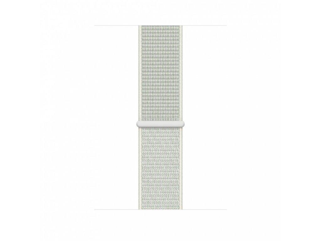 Apple Watch 44mm Nike Band: Spruce Aura Nike Sport Loop (Seasonal Fall 2020)