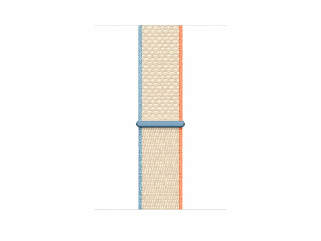 Apple Watch 44mm Band: Cream Sport Loop (DEMO) (Seasonal Fall 2020)