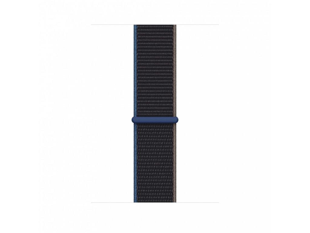 Apple Watch 44mm Band: Charcoal Sport Loop - Extra Large (Seasonal Fall 2020)