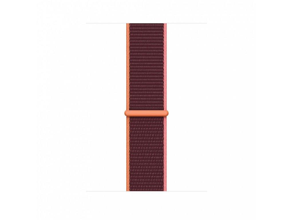 Apple Watch 44mm Band: Plum Sport Loop (DEMO) (Seasonal Fall 2020)