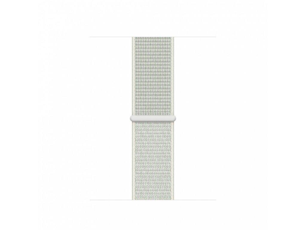 Apple Watch 40mm Nike Band: Spruce Aura Nike Sport Loop (DEMO) (Seasonal Fall 2020)