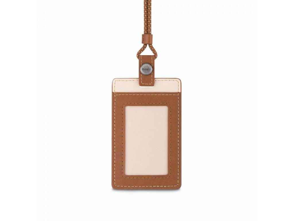 Moshi ID/Badge Holder - Caramel Brown