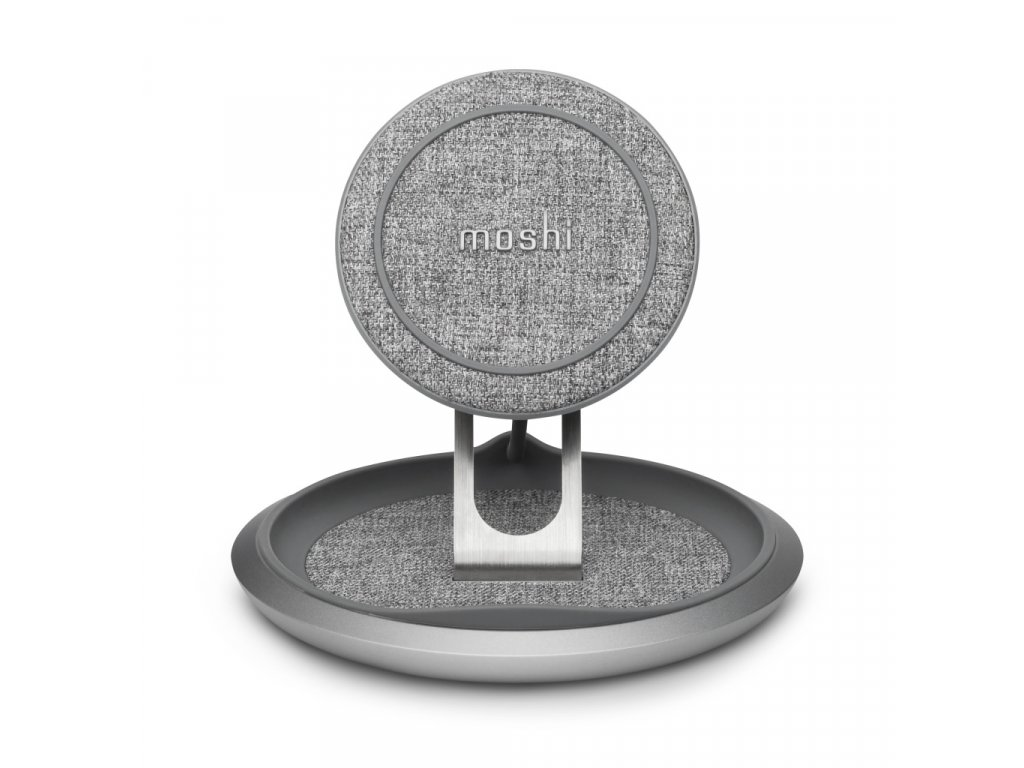 Moshi Lounge Q Wireless Charging pad - Nordic Gray