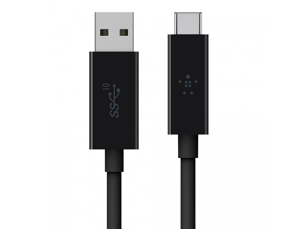 Belkin Cable USB 3.1 USB-C to USB-A 1.2m - Black