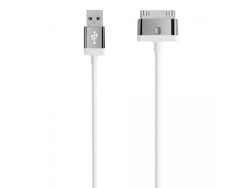 Belkin MIXIT_ª 30-Pin to USB ChargeSync Cable 2m - White