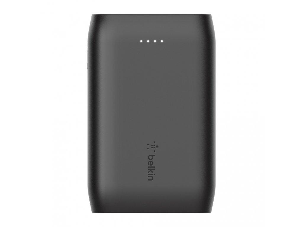 Belkin Power Bank BOOST_CHARGEª 10K MAh (2xUSB-A,1xUSB-C) USB-A to USB-C Cable included - Black