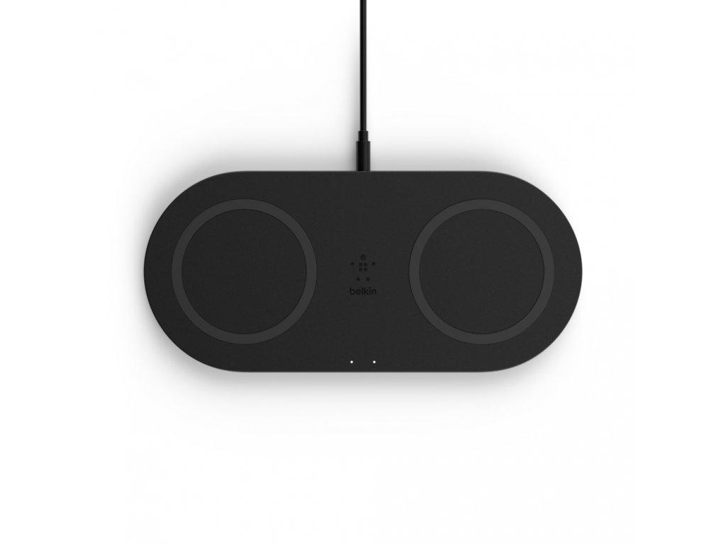 Belkin BOOST_CHARGEª Dual Wireless Charging Pads - Black