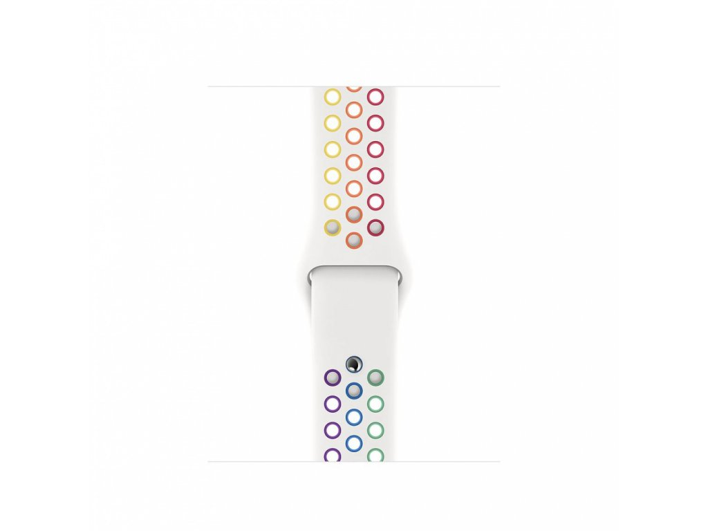 Apple Watch 40mm Nike Band: Pride Edition Nike Sport Band - Regular (DEMO)