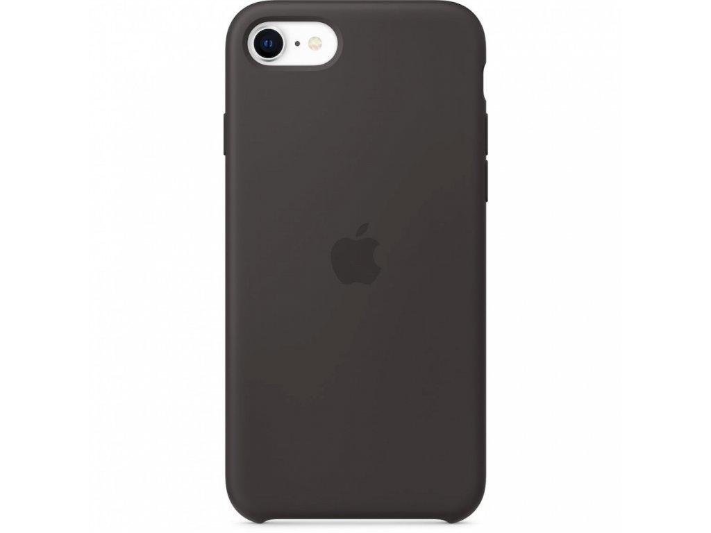 Apple iPhone SE2 Silicone Case - Black