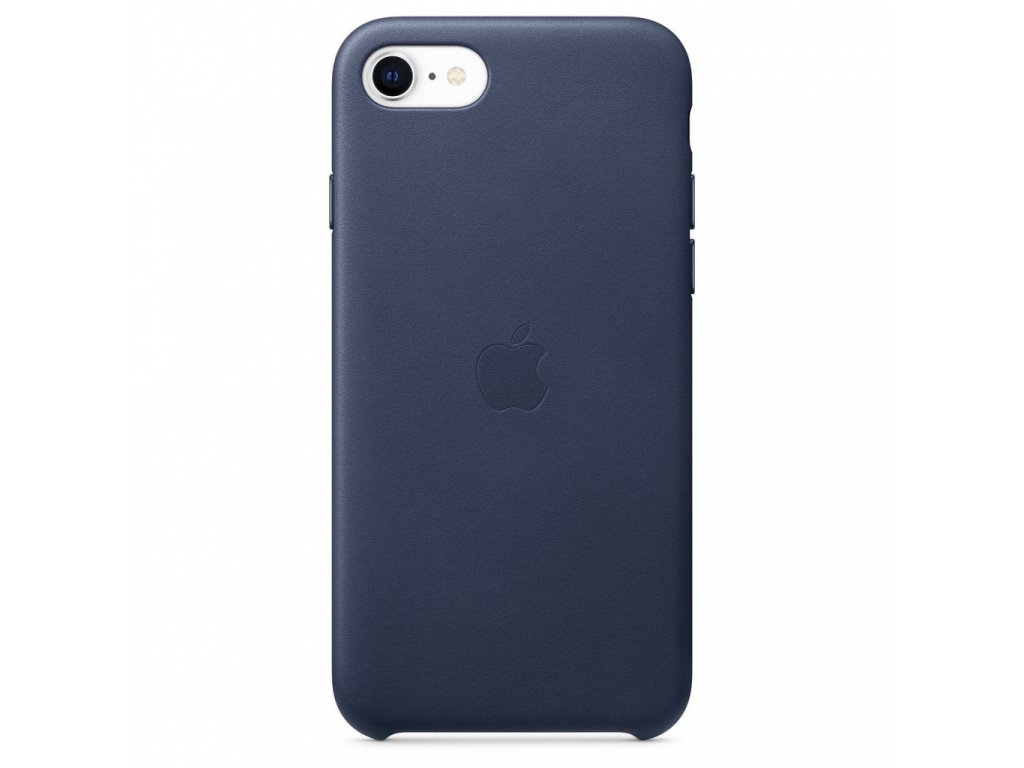 Apple iPhone SE2 Leather Case - Midnight Blue