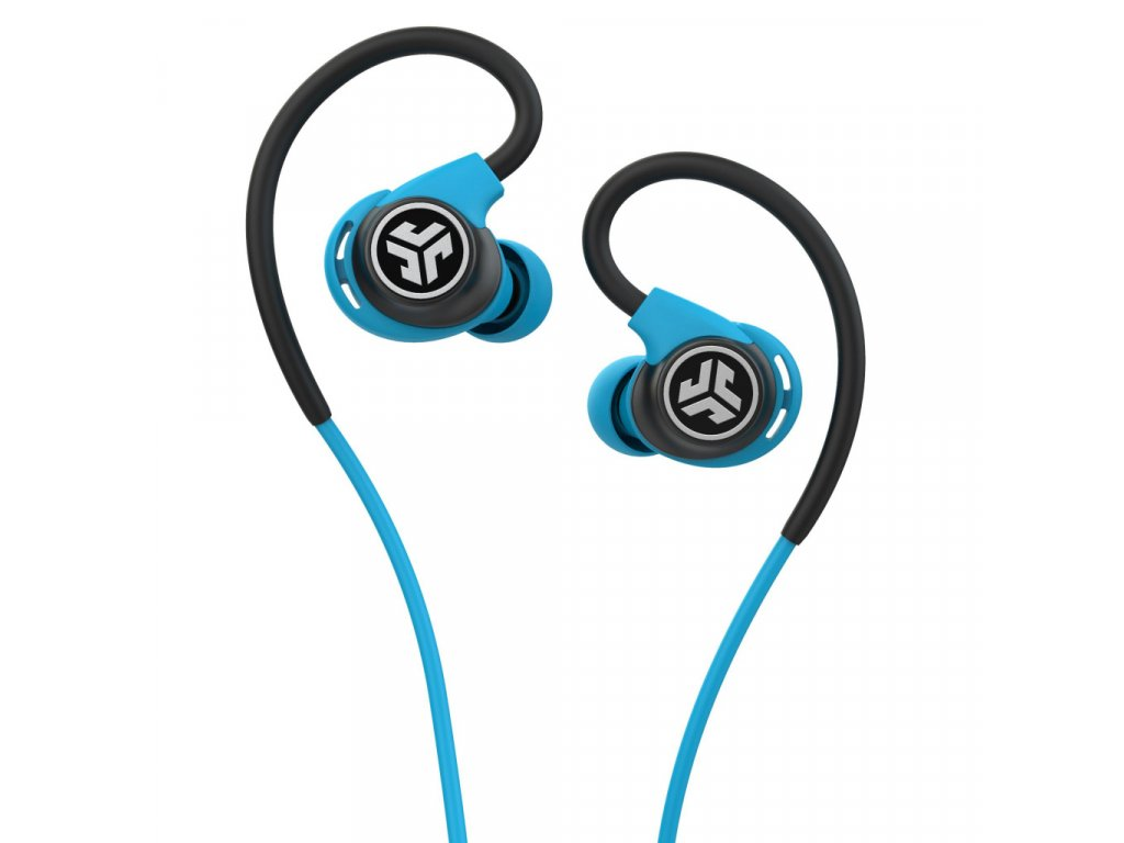JLAB Fit Sport 3 Wired Fitness Earbuds Black/Blue