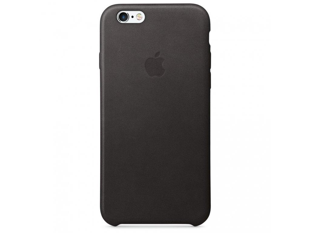 iPhone 6S Plus Leather Case - Black