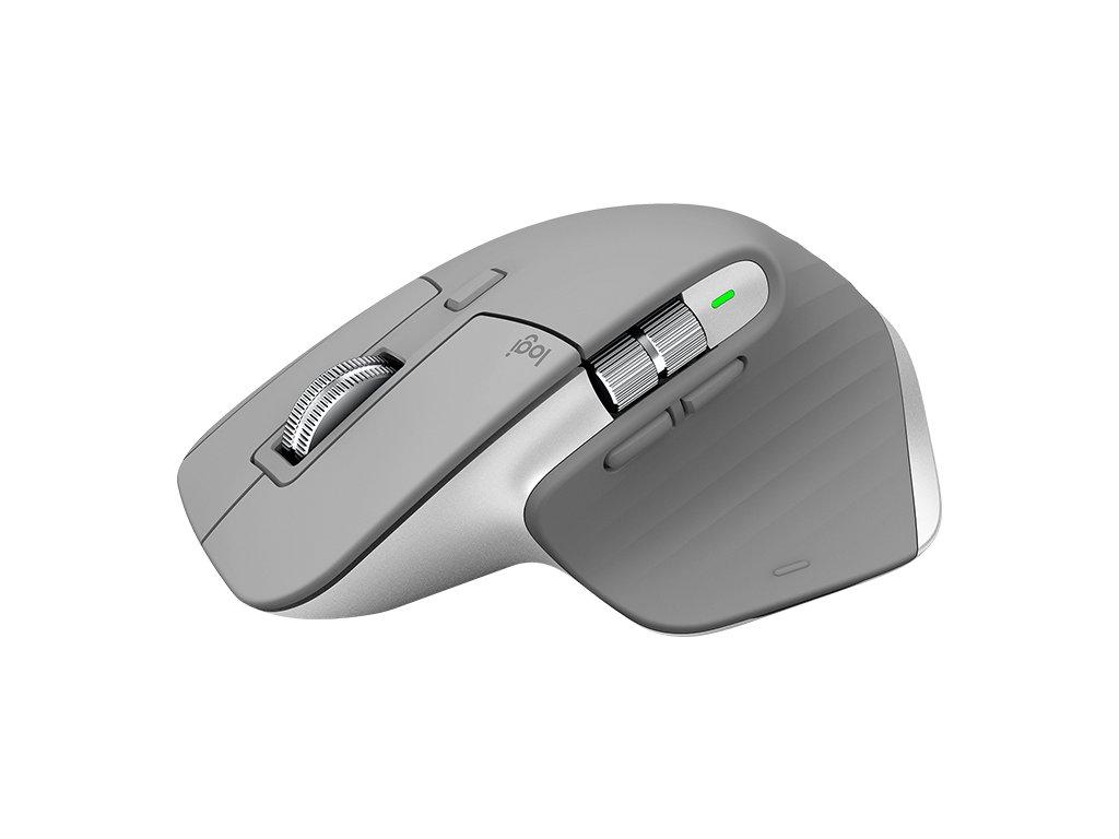 Logitech MX Master 3 Advanced Wireless Mouse - Mid-Grey