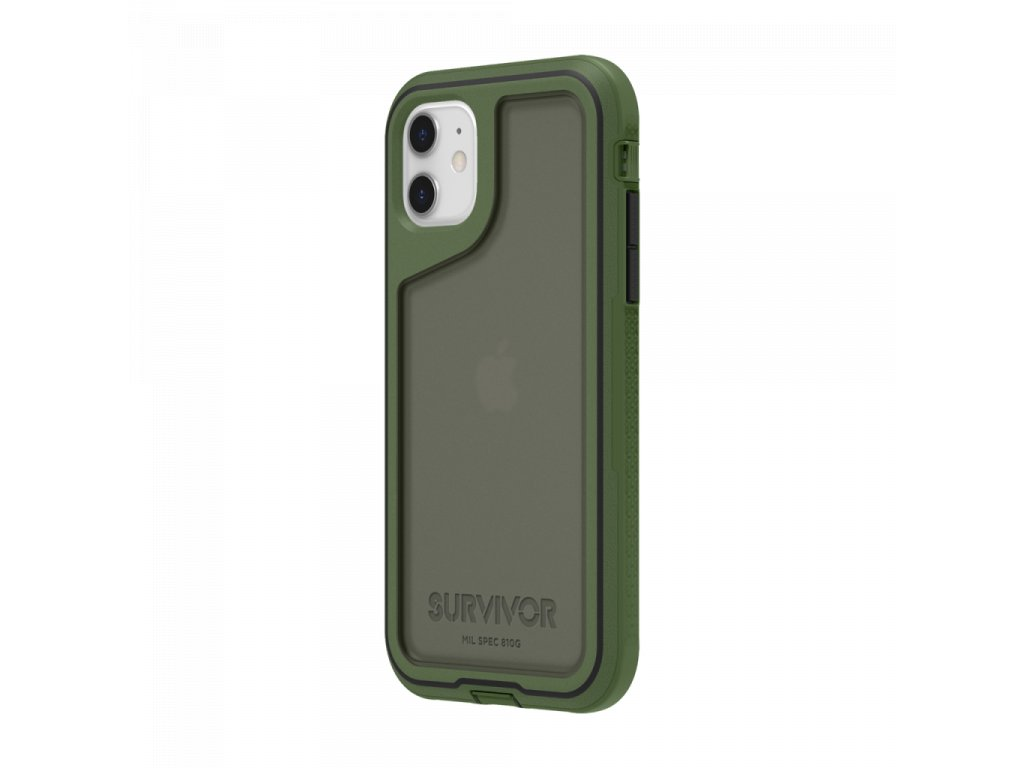 Griffin Survivor Extreme for iPhone 11 - Bronze Green/Black/Smoke