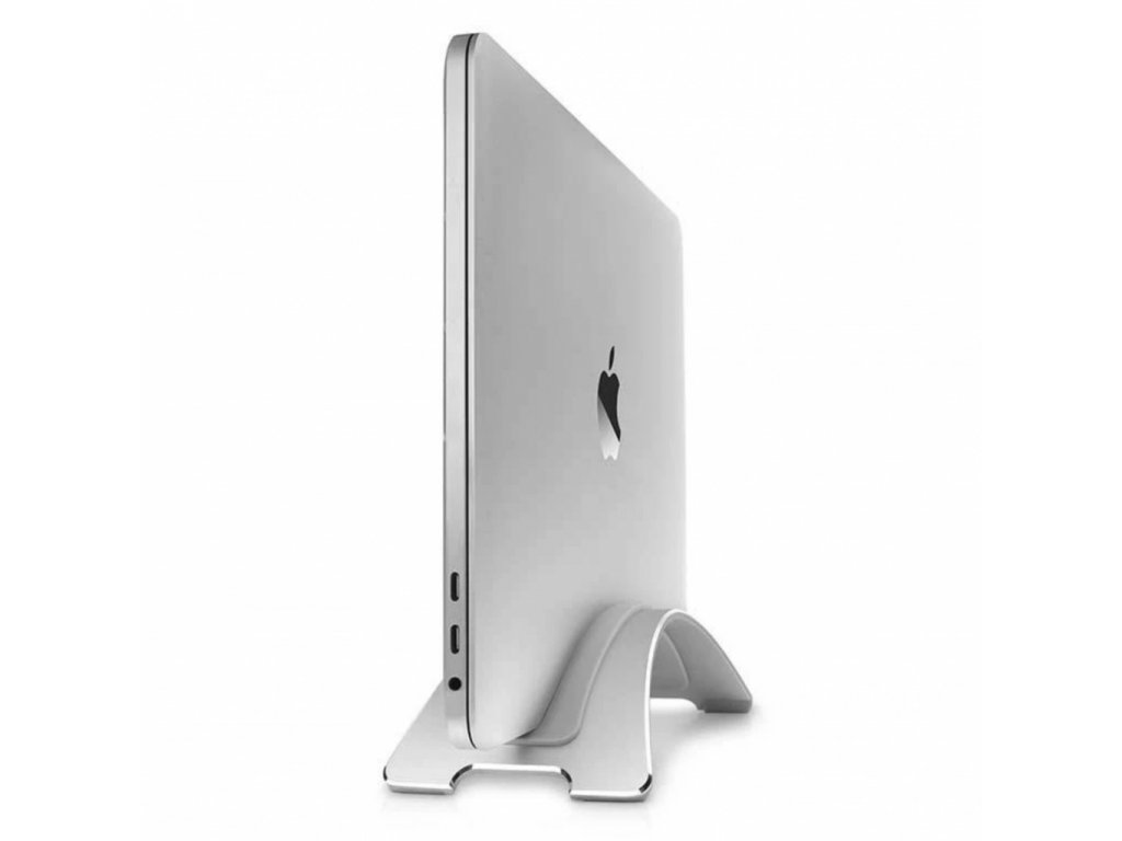 TwelveSouth BookArc Vertical Stand for MacBook 2020 - Silver
